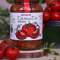 Molho de Tomate Rustico Pirahy