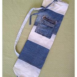 A Bolsa Porta tapete de Yoga, também conhecido por ECOBOLSA para MAT YOGA