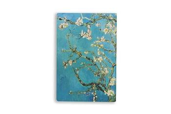 Bullet Journal sem pauta (p) - amendoeira em flor - Folk books 1