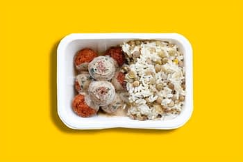 Falafel com tahine - Marmita congelada 1