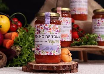 Molho de Tomate Enriquecido com Legumes sabor Azeitona