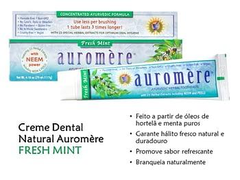 Creme Dental Natural Auromère 2