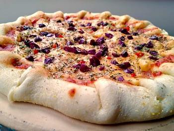 Pizza Média Vegana com Borda Recheada Congelada - Sabores - Chico Pizzeria 2