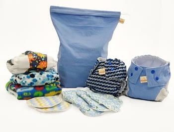 Compre o Kit Iniciante de fraldas e GANHE um kit para a mãe 2