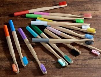 Escova de Dentes de Bambu Infantil 1
