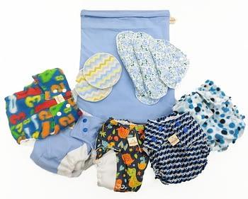 Compre o Kit Iniciante de fraldas e GANHE um kit para a mãe 1