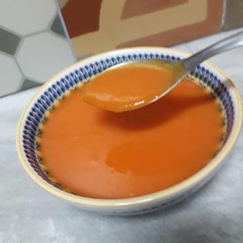 Sopa de abóbora com gengibre - Produto congelado 1