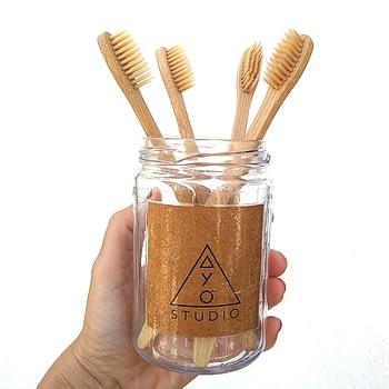 Escova Dente Bambu