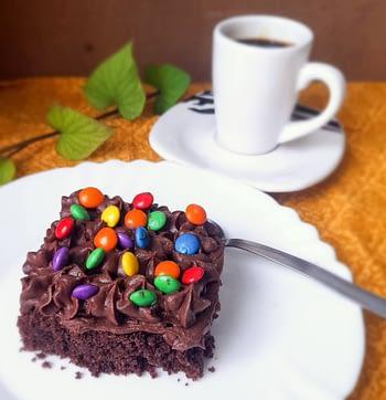 Brownie com Ganache - sem trigo 1