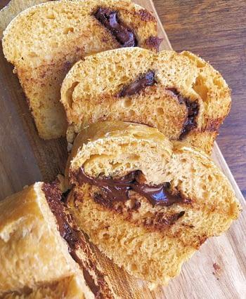 Pão de Cenoura & Chocolate 1