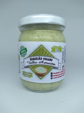Requeijão Vegano Azeitonas com Rúcula 1