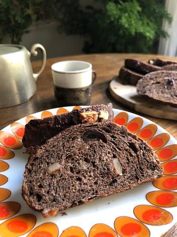 Pão de Cacau & Nozes 03 unidades (150g) 2