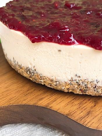 Cheesecake Vegana Crua 3