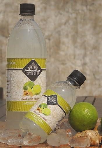 Kombucha Limão com Gengibre - 1 Litro 1