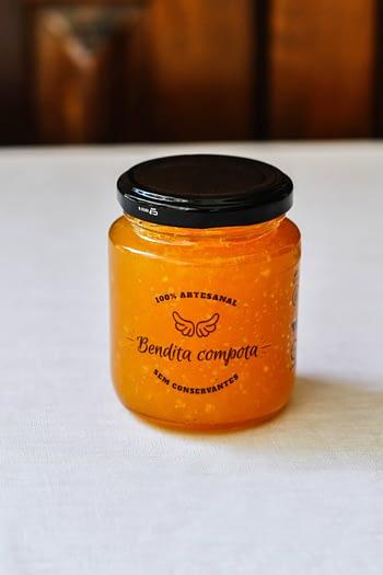 Geleia de Damasco com Laranja - Bendita Compota 3