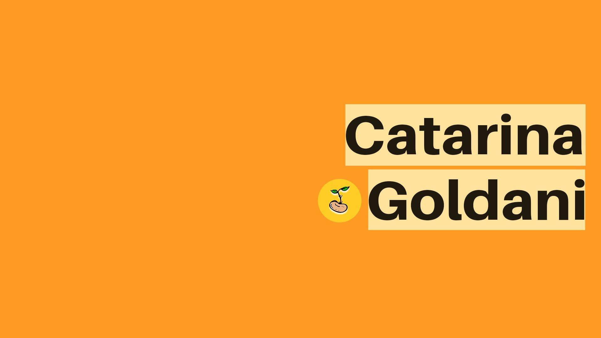 Nutri Catarina Goldani